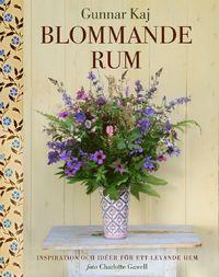 """Boken """"Blommande rum"""" av Gunnar Kaj."""