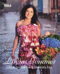 """Boken """"Lindas blommor"""" av Linda Ihreskog."""