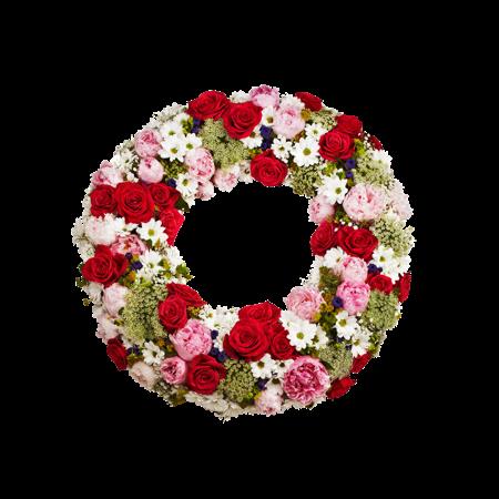 interflora krans begravning