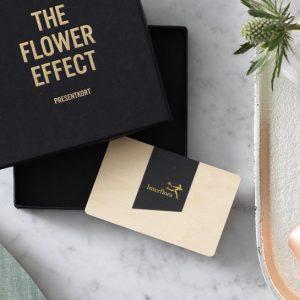 Presentkort från Interflora.