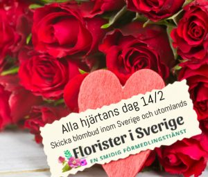 Beställ blomsterbud, chokladbud o. nallebud hos Florister i Sverige!