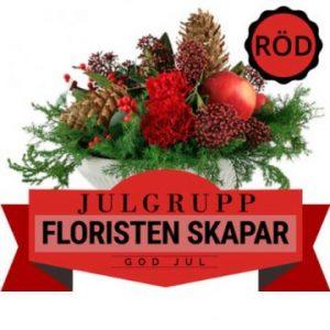 Låt floristern skapa en stämningsfull julgrupp med tillgängliga julblommor, grönt och julpynt! Ett alternativ hos Florister i Sverige.
