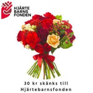 Färgglad bukett, floristen väljer (fyll i önskemål om färgval om du vill). Skicka blommorna med bud från Florister i Sverige!